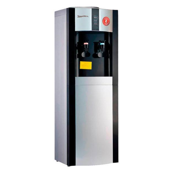 Кулер для воды Aqua Work 16LE (серебристо-черный)
