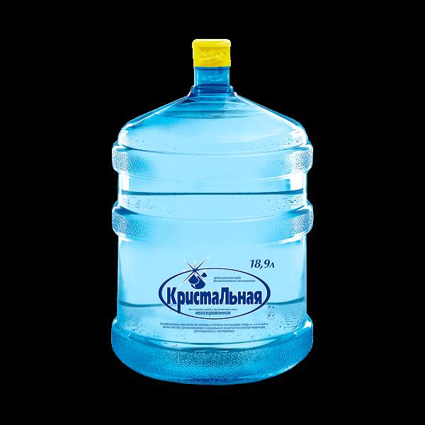 Вода питьевая Кристальная-фторированная