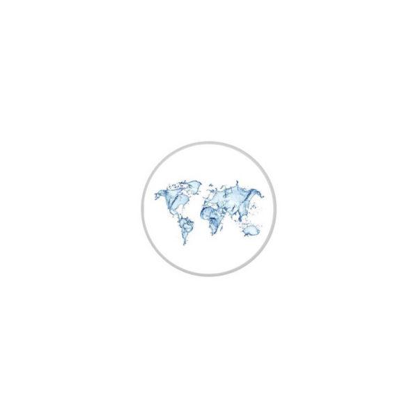 """Чехол на бутыль """"Карта мира"""""""