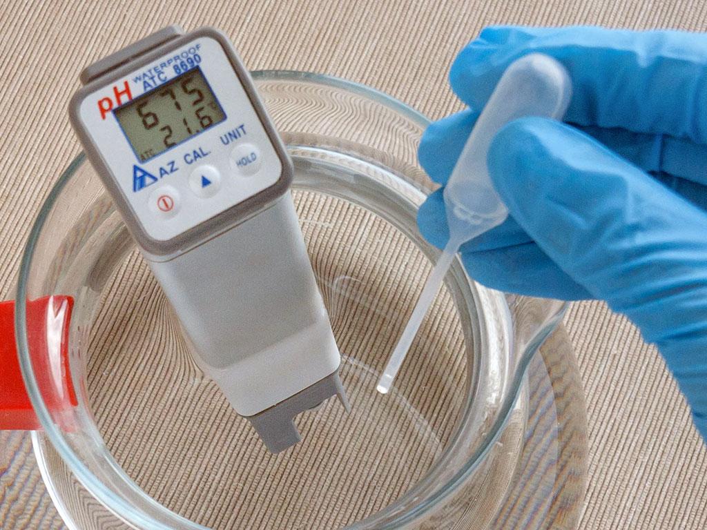 Прибор для измерения показателя pH